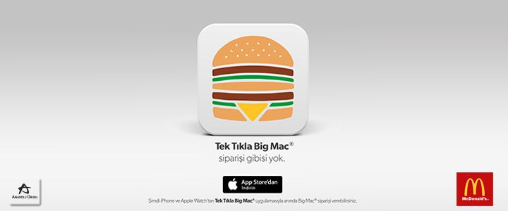 Big Mac Siparişi Vermek Hiç Bu Kadar Kolay Olmamıştı!