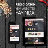 Reis Gıda'nın Yeni Web Sitesi Yayında!