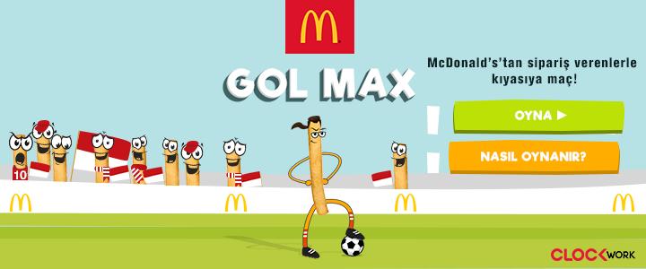 Clockwork'ten McDonald's İçin Gol Max Çift Ekran Oyunu
