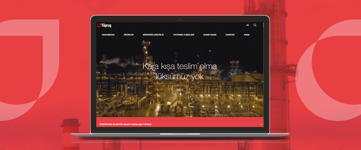 Tüpraş'ın Yenilenen Web Sitesi Yayında!