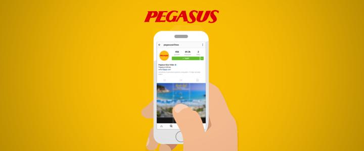 "Pegasus'tan ""Instagram Stories"" Kampanyası"