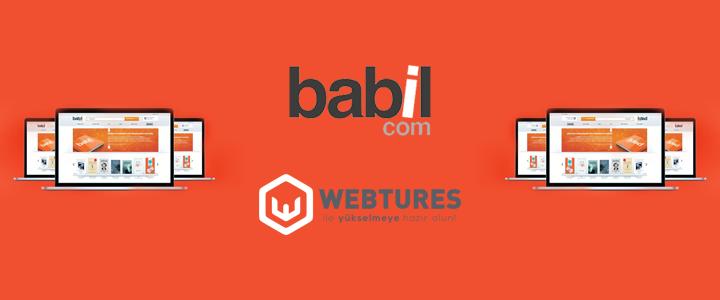 Babil.com, SEO Çalışmaları İçin Webtures'i Tercih Etti!