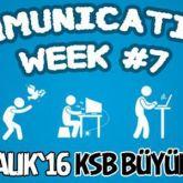 Communications Week #7