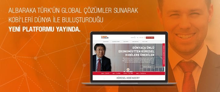 Albaraka Türk'ün Global KOBİ Platformu Yayında!