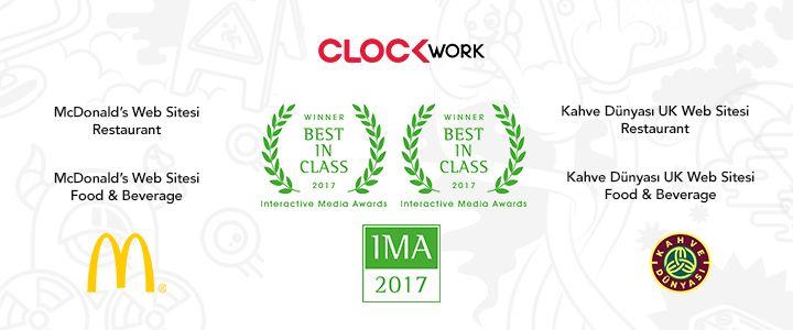 Clockwork'e IMA'dan 4 Ödül!
