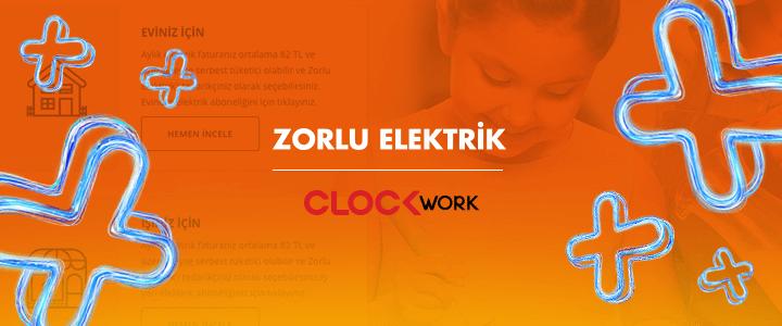 Zorlu Elektrik ve Clockwork Enerjilerini Birleştirdi!