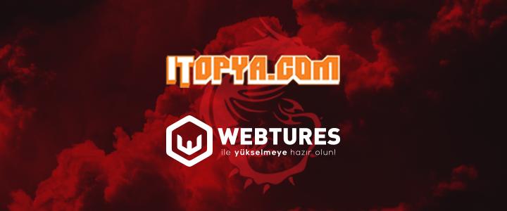 HWA Gaming Resmi Sponsoru Olan Itopya.com'un SEO Ajansı Webtures Oldu!