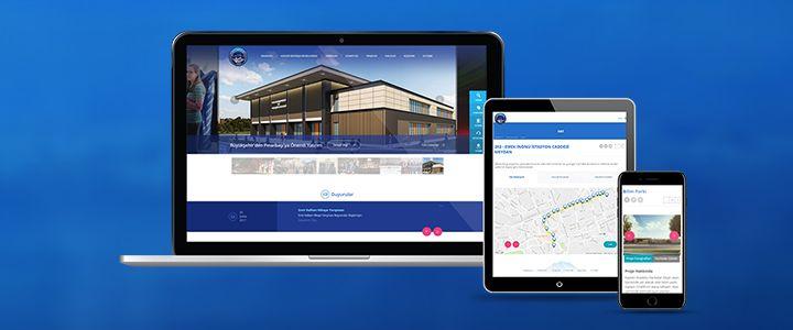 Kayseri Büyükşehir Belediyesi'nin Yeni Web Sitesi Pixelplus Tarafından Hazırlandı