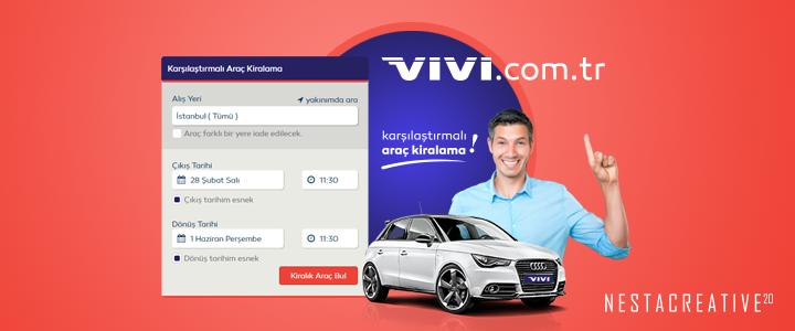 Vivi.com.tr'nin Yeni Dijital Ajansı Nesta Creative Oldu