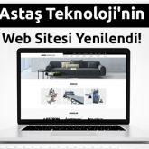Astaş Teknoloji'nin Sitesi Yenilendi!