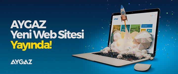 Aygaz'ın Web Sitesi Yenilendi!