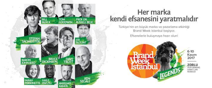 Efsaneler Brand Week Istanbul'da Buluşuyor!