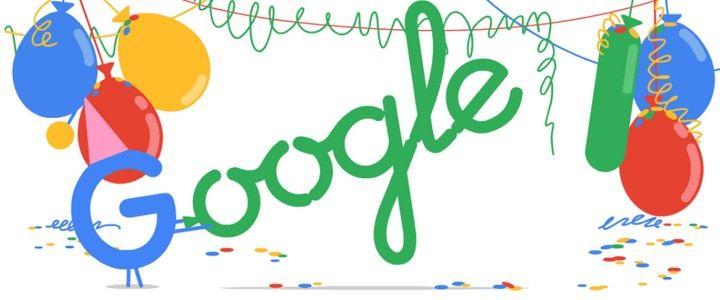 Google 19'uncu Yaşını Çarkıfelek Doodle'ıyla Kutluyor