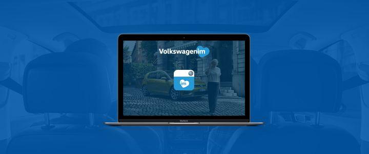 """""""Volkswagenim"""" Yenilenen Sitesiyle Yayında!"""