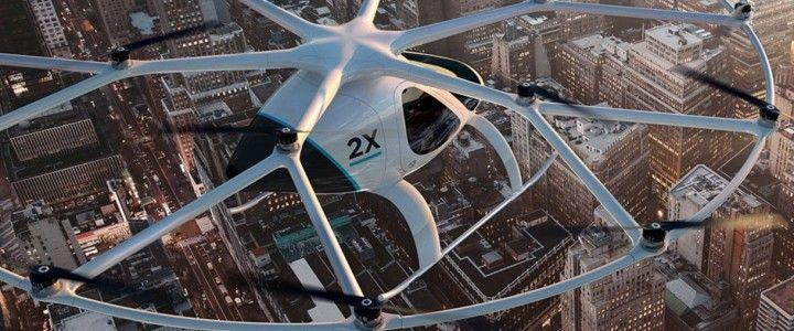 Dubai, İlk Otonom Uçan Taksi Projesini Başarıyla Test Etti
