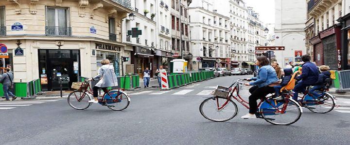 Paris Caddeleri 1 Günlüğüne Trafiğe Kapatıldı