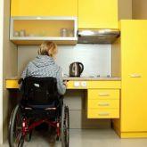 Yürüme Engelliler İçin Tasarlanan Modüler Mutfak Dolabı