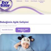 Evy Baby Global Sitesi Şimdi Türkçe!