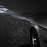 Mercedes-Benz'in Ön Farları Yola İnfografik Yansıtabilecek