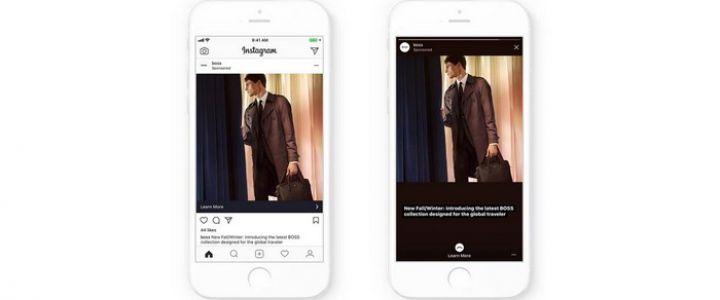 Instagram'a Otomatik Tam Ekran Stories Reklamları Özelliği Geldi