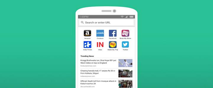 Amazon'dan Mobil Web Tarayıcı Uygulaması