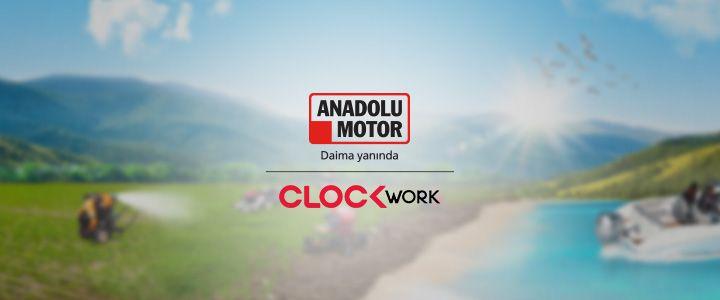 Anadolu Motor ve Anadolu Landini'nin Dijital İletişim Ajansı Clockwork!