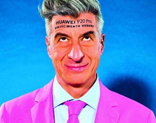 Huawei İnsan Billboard