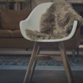 Chewbacca'ya Dönüşen IKEA Sandalyesi