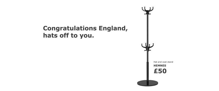 IKEA, İsveç'e Galip Gelen İngiltere'ye Şapka Çıkardı