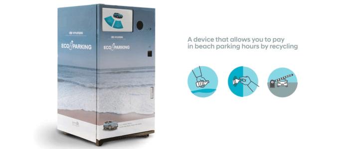 Hyundai Eco Parking, Plastik ile Ödeme Yapılan İlk Otopark Bilet Makinesi
