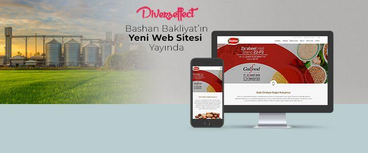 Bakliyat Devi Başhan'ın Yeni Web Sitesini Diverseffect Hazırladı!