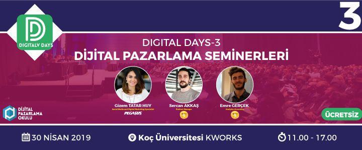 Digital Days – 3 Başlıyor!