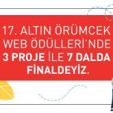 iGOAİMALATHANE Altın Örümcek Ödülleri'nde 3 Proje ile 7 Dalda Finalde!
