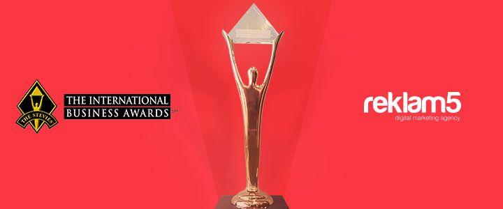 Reklam5'e Bu Yıl da 4 Stevie Award!