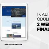 Bu Yılki Altın Örümcek Web Ödülleri'nde  1.618 Agency 2 Ayrı Dalda Finalist!