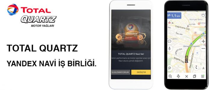 Total Quartz Yandex Navi'de