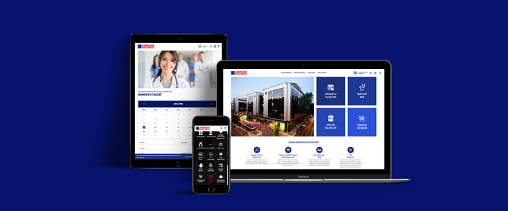 Amerikan Hastanesi'nin Web Sitesi POMPAA İmzasıyla Yenilendi