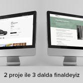 Designneuro Altın Örümcek'te 2 Projeyle 3 Dalda Finalde!