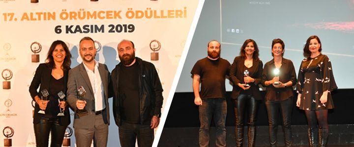 iGOAİMALATHANE'ye Altın Örümcek Ödülleri'nde 3 kategoride Birincilik Ödülü!