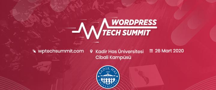 WordPress Teknoloji Zirvesi 26 Mart Tarihinde Kadir Has Üniversitesinde Gerçekleşecek