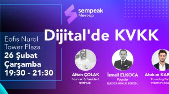 Dijital'de KVKK