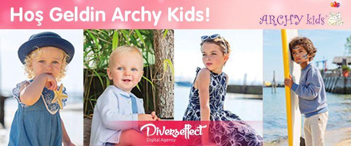 Bebek ve Çocuk Giyiminin Dev Markası Archy Kids, Diverseffect İle Anlaştı!