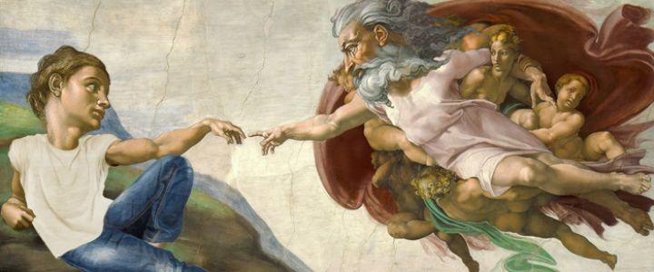 Michelangelo, Doğum Gününde Art Director oldu!