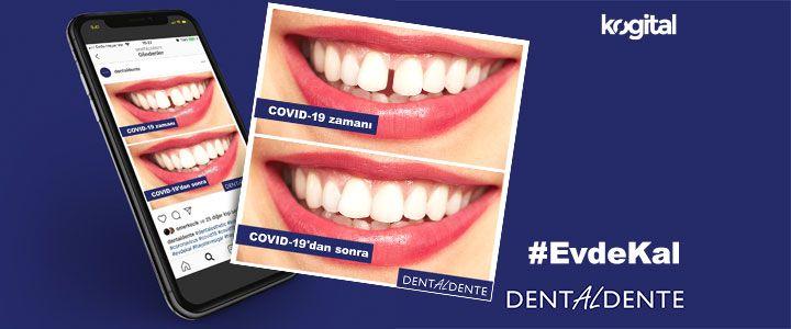 DentalAlDente'den Sosyal Mesafeye Dikkat Çeken Paylaşım