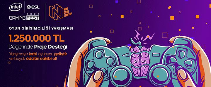 """Türkiye'nin En Kapsamlı Oyun Girişimciliği Yarışması """"Next Game Startup""""   Başlıyor"""