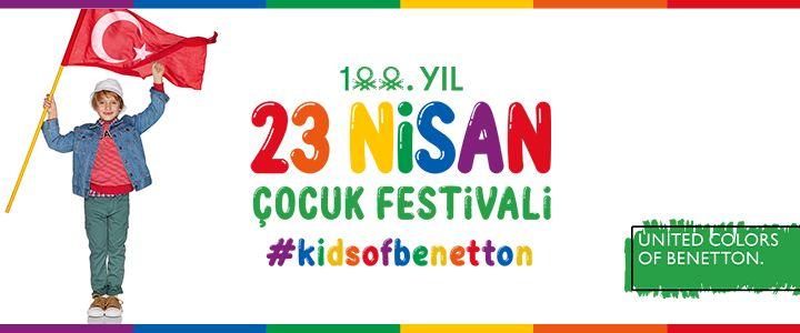 Benetton Çocukları Bu Yıl 23 Nisan'ı Tüm Renkleriyle Evde Kutladı!
