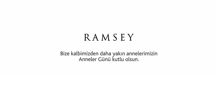 Erkek moda markası Ramsey'den Annelere Söz!