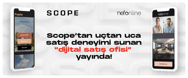 Scope'tan uçtan uca satış deneyimi sunan 'Dijital Satış Ofisi' yayında!