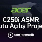 Tam Otomatik, Acer Türkiye'nin Yeni Taşınabilir Projektörü C250i'yi ASMR Video İle Tanıtıyor