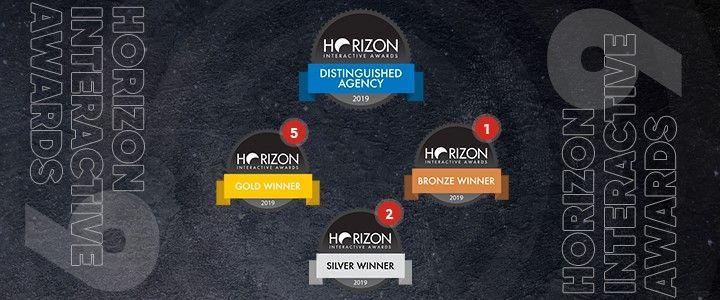 egegen Horizon Interactive Awards'tan 9 Ödül İle Döndü!